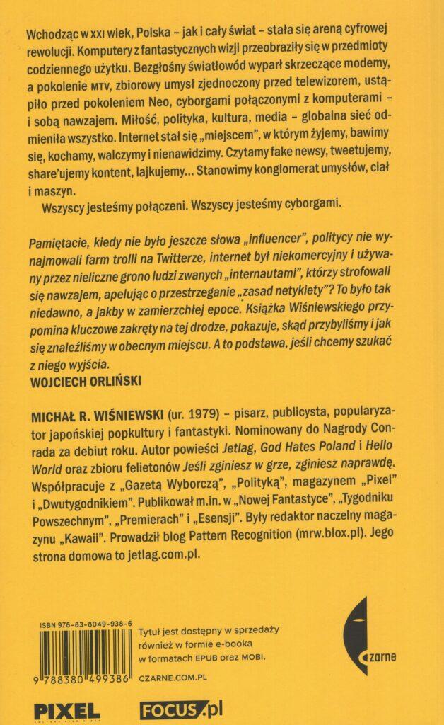 Wszyscy Jesteśmy Cyborgami - Michał R. Wiśniewski